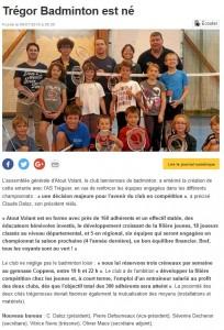 Trégor-Badmonton